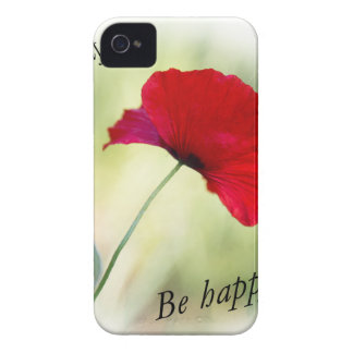 """Be happy! - Love Yourself..."" iPhone 4 Cover"