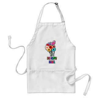 be happy mama adult apron