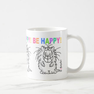 BE HAPPY! mug