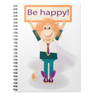 Be happy! note books