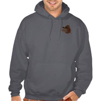 Be Happy Pal Hooded Sweatshirts