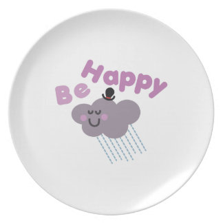 Be Happy Plate