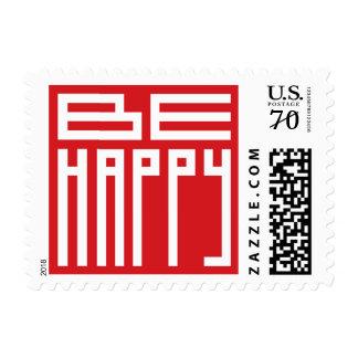 be happy postage