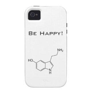 Be Happy! Serotonin iPhone 4/4S Cases