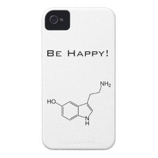 Be Happy! Serotonin iPhone 4 Covers
