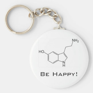 Be Happy! Serotonin Keychain