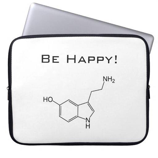 Be Happy! Serotonin Laptop Sleeve