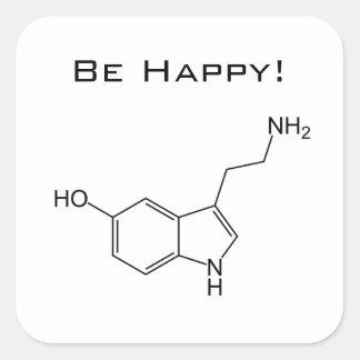 Be Happy! Serotonin Sticker
