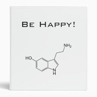 Be Happy! Serotonin Vinyl Binder