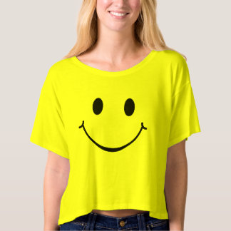 Be Happy Smiley Face T-shirt