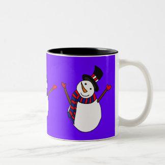 BE- Happy Snowman Mug