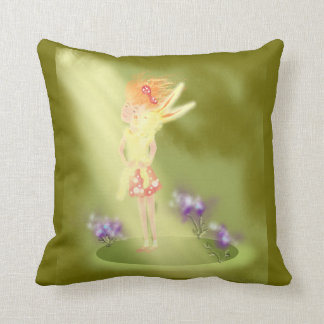 Be happy! throw pillows