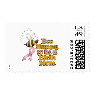 Be Happy to Be a Birth Mom Postage