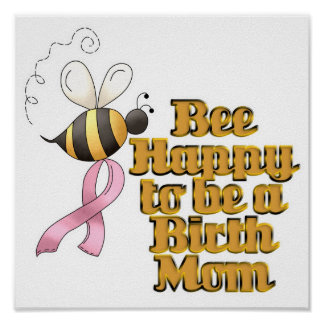 Be Happy to Be a Birth Mom Poster