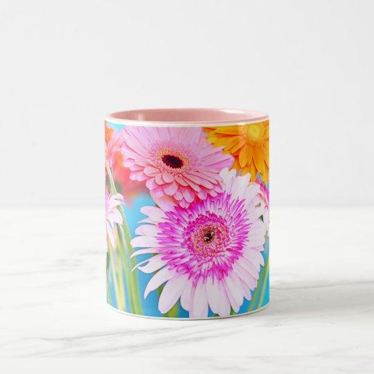 Be Happy... Two-Tone Coffee Mug