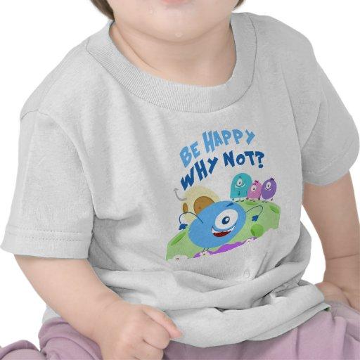 Be Happy Yum Yum Tee Shirts