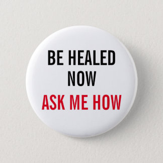 Be healed button