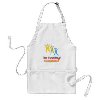 BE HEALTHY!!! ADULT APRON