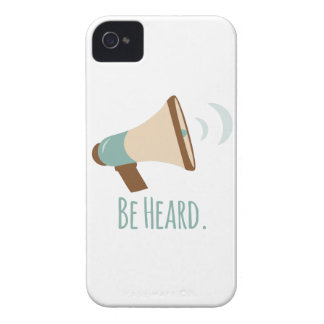 Be Heard Case-Mate iPhone 4 Cases