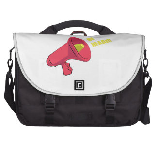 Be Heard Laptop Bag