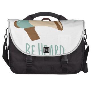 Be Heard Laptop Commuter Bag