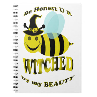 be honest u r bee witched by my beauty notebook