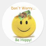 Be Hoppy!  Stickers