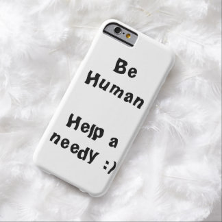 Be Human iPhone6 case Barely There iPhone 6 Case