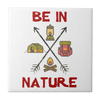 Be In Nature Tile