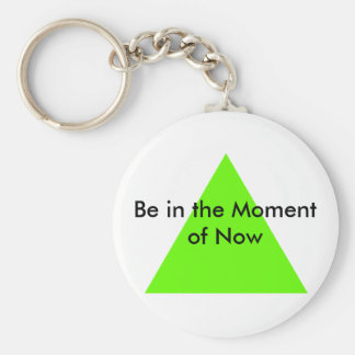 Be in the Moment of Now The MUSEUM Zazzle Gifts Key Chains