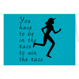 Be in the Race to Win the Race Card