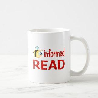 Be Informed READ Coffee Mugs