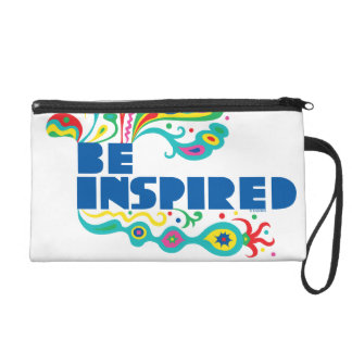 Be Inspired bag Wristlet Clutch
