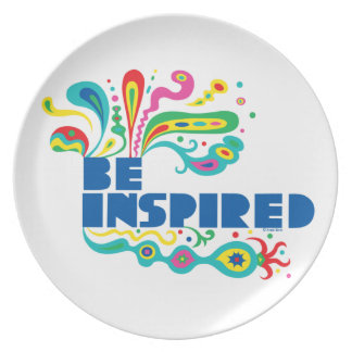 Be inspired - plate