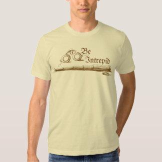 Be Intrepid Vintage T-shirts