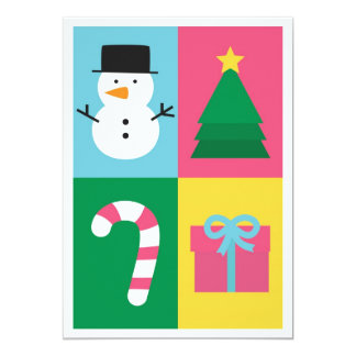 Be Jolly and Bright with Colourful Christmas Set Card
