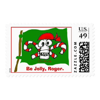 Be Jolly, Roger Christmas Postage
