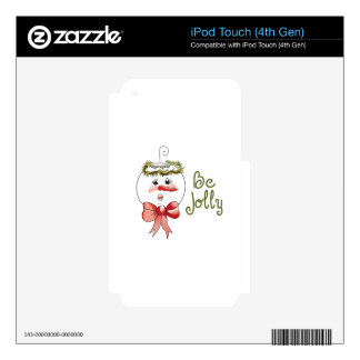 BE JOLLY iPod TOUCH 4G SKIN