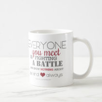 Be Kind Always (red) Coffee Mug