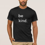 """Be Kind Black T-Shirt<br><div class=""""desc"""">Be Kind Black T-Shirt</div>"""