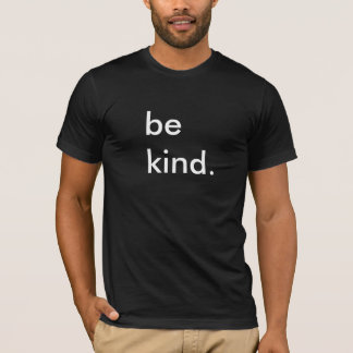 Be Kind Black T-Shirt
