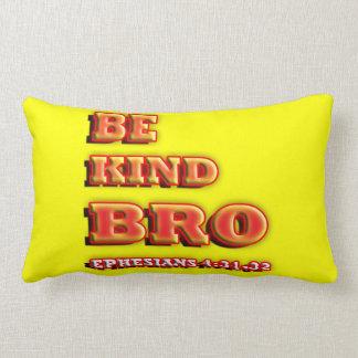 Be kind Bro. Pillow