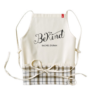 be kind calligraphy apron