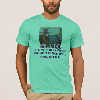 Be kind for everyone you meet - Plato T - Shirt
