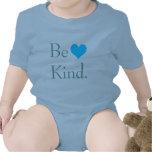 Be Kind Heart Bodysuits