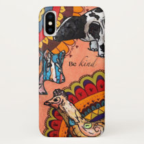 Be kind iPhone x case
