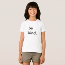 Be Kind Kids White T-Shirt