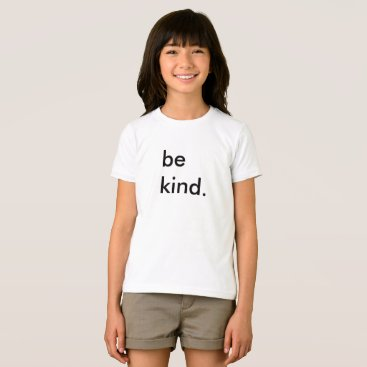 momastery Be Kind Kids White T-Shirt