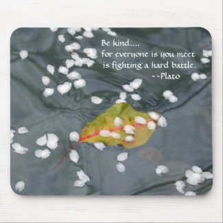 Be Kind...Plato Mouse Pad