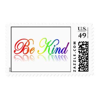 Be Kind Postage Stamp